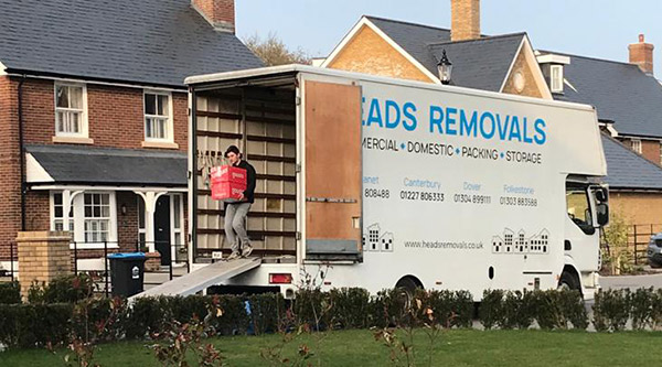 House removals in Herne Bay